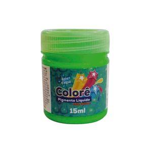Corante Líquido Neon com 15ml Verde