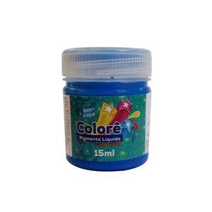 Corante Líquido Neon com 15ml Azul