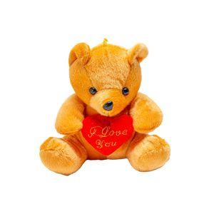 Pelúcia Le Urso com Coração 17cm
