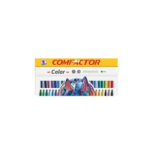 Hidrocor Compactor Color Gig com 24 Cores