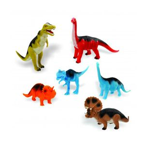 Kit Dinossauros Evolucão Adijomar com 6 Peças