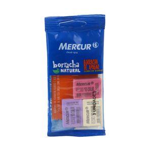Borracha Mercur Record Color com 3 Unidades