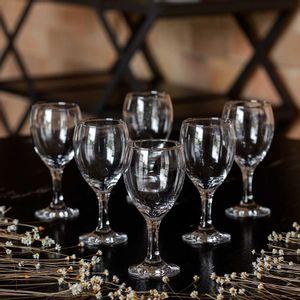 Jogo de Taças Para Vinho Nadir Windsor 250ml 6 Peças