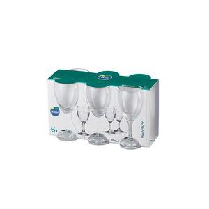 Jogo de Taças Para Água Nadir Windsor 300ml 6 Peças