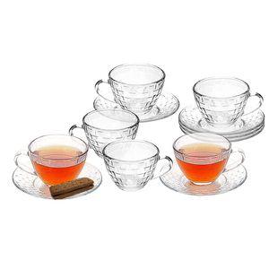 Conjunto de Xícaras de Chá Le Picnic em Vidro 6 Peças 230ml