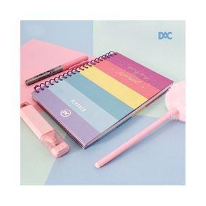 Agenda Planner Dac Espiral Capa Dura Enjoy Candy Color 96 Folhas