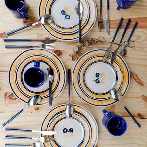Aparelho de Jantar Oxford Biona Giardino 12 Peças