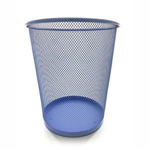 Cesto de Papel Le Aramado Azul Pastel 23,5x27cm