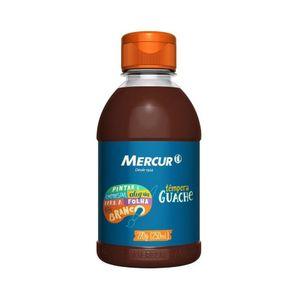 Tinta Guache Mercur Marrom 250ml