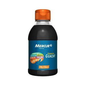 Tinta Guache Mercur Preto 250ml