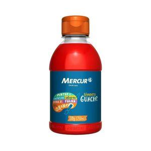 Tinta Guache Mercur Vermelho 250ml