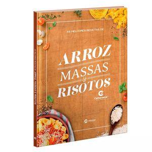 Livro Culturama As Melhores Receitas de Arroz, Massas e Risotos