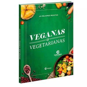 Livro Culturama As Melhores Receitas Veganas e Vegetarianas