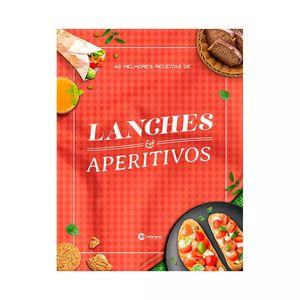 Livro Culturama As Melhores Receitas de Lanches e Aperitivos