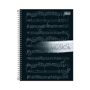 Caderno de Música Tilibra Universitário Espiral Capa Dura Capas Diversas - Item Sortido