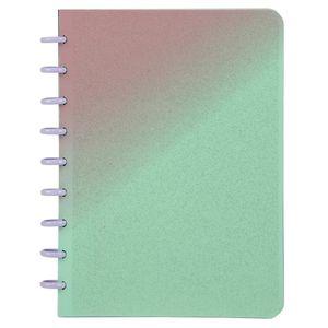Caderno Colegial Smart Confetti Espiral Capa Plástica Le Glitter Capas Diversas - Item Sortido