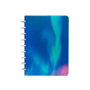 Caderno Colegial Smart Confetti Espiral Le Holo 1 Matéria 80 Folhas