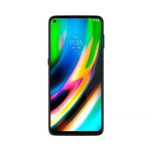 "Smartphone Motorola G9 Plus 128gb Tela 6.8"" Câmera Quádrupla 64mp + 8mp + 2mp + 2mp Azul"