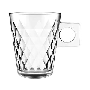 Conjunto de Xícaras Dynasty Diamond Coffe Time 6 Peças 80ml