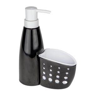 Dispenser Pia Le Clear Plástico Preto