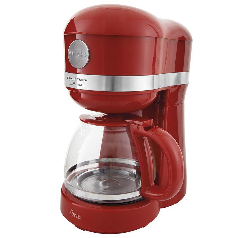 Cafeteira Elétrica Philco Retro Vermelho 110v - Pcf38v