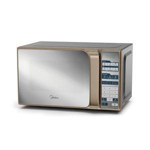 Micro-Ondas Midea Mtfs22 20 Litros Prata Espelhado - 220v
