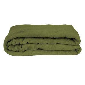 Manta Cobertor Queen Fleece Le Casa Lisa 100% Poliéster Verde