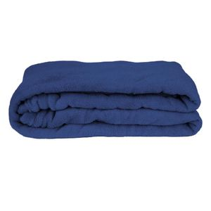 Manta Cobertor Casal Fleece Le Casa Lisa 100% Poliéster Azul