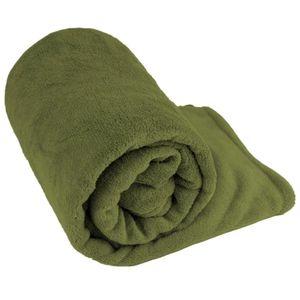 Manta Cobertor Solteiro Fleece Le Casa Lisa 100% Poliéster Verde