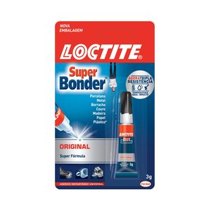 Cola Instantânea Super Bonder Loctite 3g