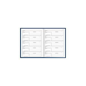 Livro Protocolo Correspondência Tilibra Capa Dura com 104 Folhas 153x216mm