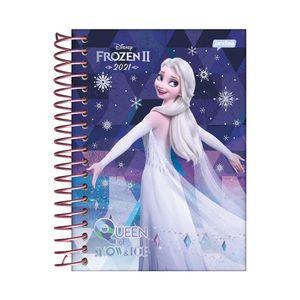 Agenda Jandaia Espiral Frozen 32 Folhas Capas Diversas - Item Sortido