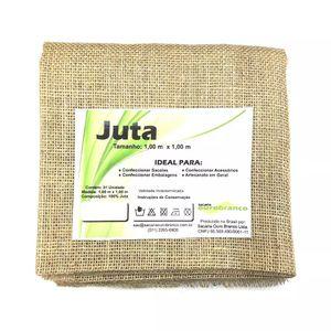Tecido de Juta Sacaria com 1m Natural