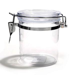 Pote Le Clear em Acrílico Hermético com Tampa Transparente 950ml