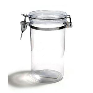 Pote Le Clear em Acrílico Hermético com Tampa Transparente 1,13l