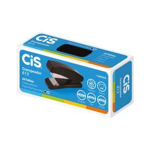 Grampeador Cis Plástico Nº 20 Preto 10x2,9x4,7cm