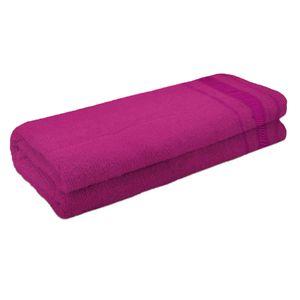 Toalha de Banho Atlântica Candy Algodão Rosa Pink 1 Peça