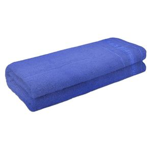 Toalha de Banho Atlântica Candy Algodão Azul 1 Peça