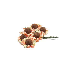 Buquê Botão Flor Girassol Mini com 6 Unidades
