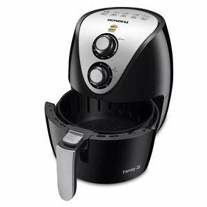Fritadeira Elétrica Air Fryer Mondial Family Af-30 3,5l Preta - 220v