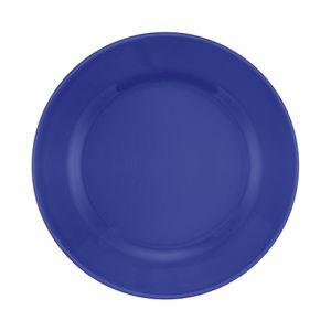 Prato Raso Oxford Donna Porcelana Redondo Azul 24cm